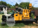 XY-2PC Core Drilling Rig with Deuitz diesel engine + rubber crawler + BW 150 pump, SPT Hammer and additional equipment